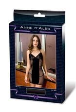 ANNE D'ALES - ROBE DERNIER TANGO - BLACK - SMALL/MEDIUM