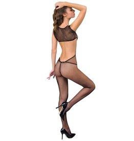 ANNE D'ALES - CATHERINE JUMPSUIT - BLACK - SMALL/MEDIUM