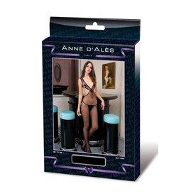 ANNE D'ALES - CATHERINE JUMPSUIT - BLACK - MEDIUM/LARGE