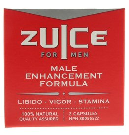 ZUICE FOR MEN ZUICE FOR MEN - MALE ENHANCEMENT FORMULA 2-PACK