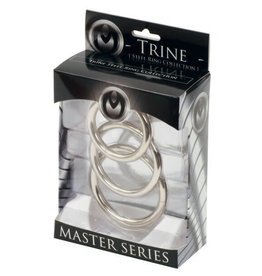 MASTER SERIES MASTER SERIES - TRINE - STEEL RING COLLECTION