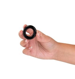 OXBALLS OXBALLS - WILLY RINGS - COCK RINGS - 3 PACK - BLACK