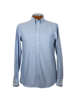 Drinkwater's Drinkwater's Blue Cambridge Oxford Buttondown Shirt