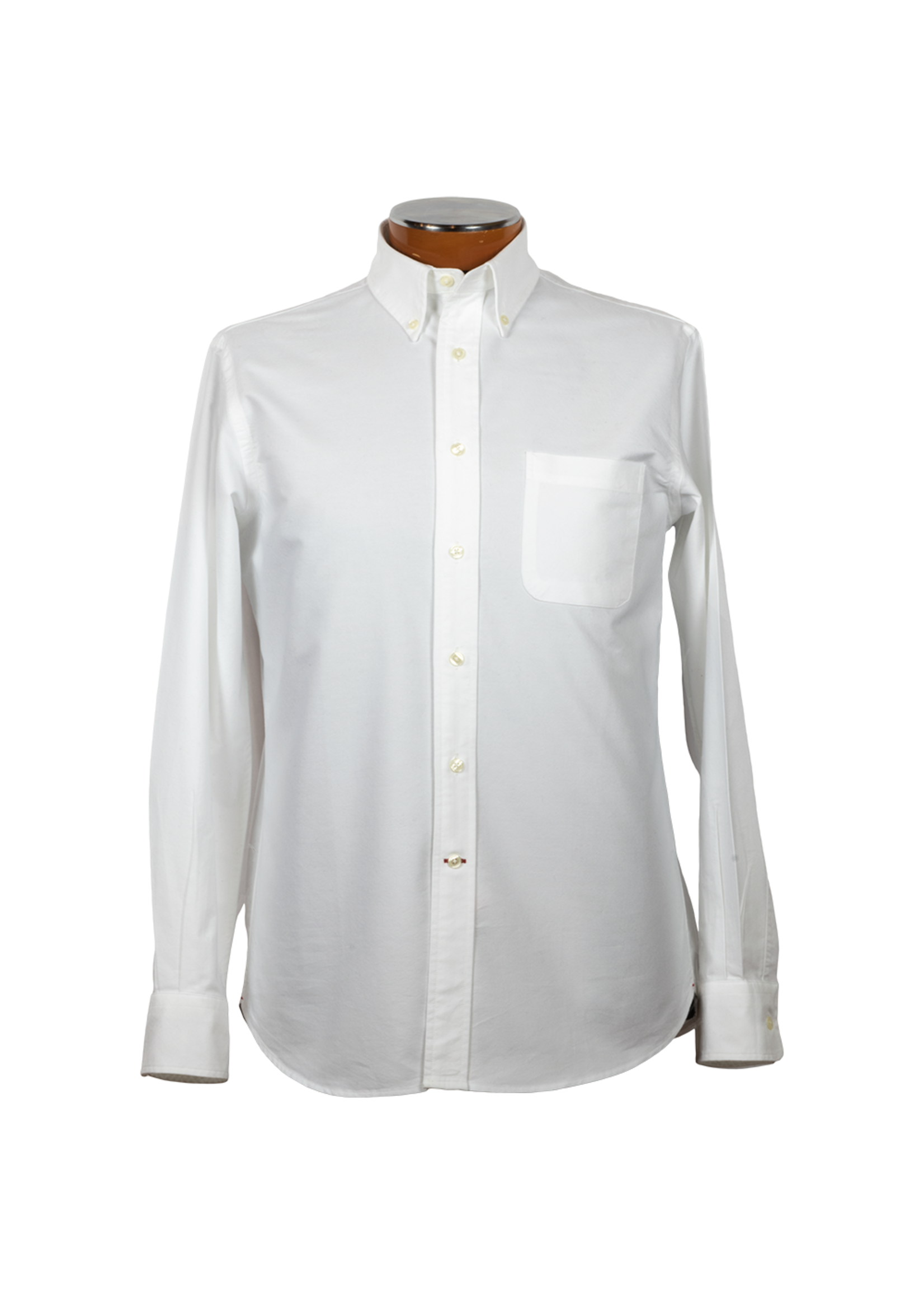 Drinkwater's Drinkwater's White Cambridge Oxford Buttondown Shirt