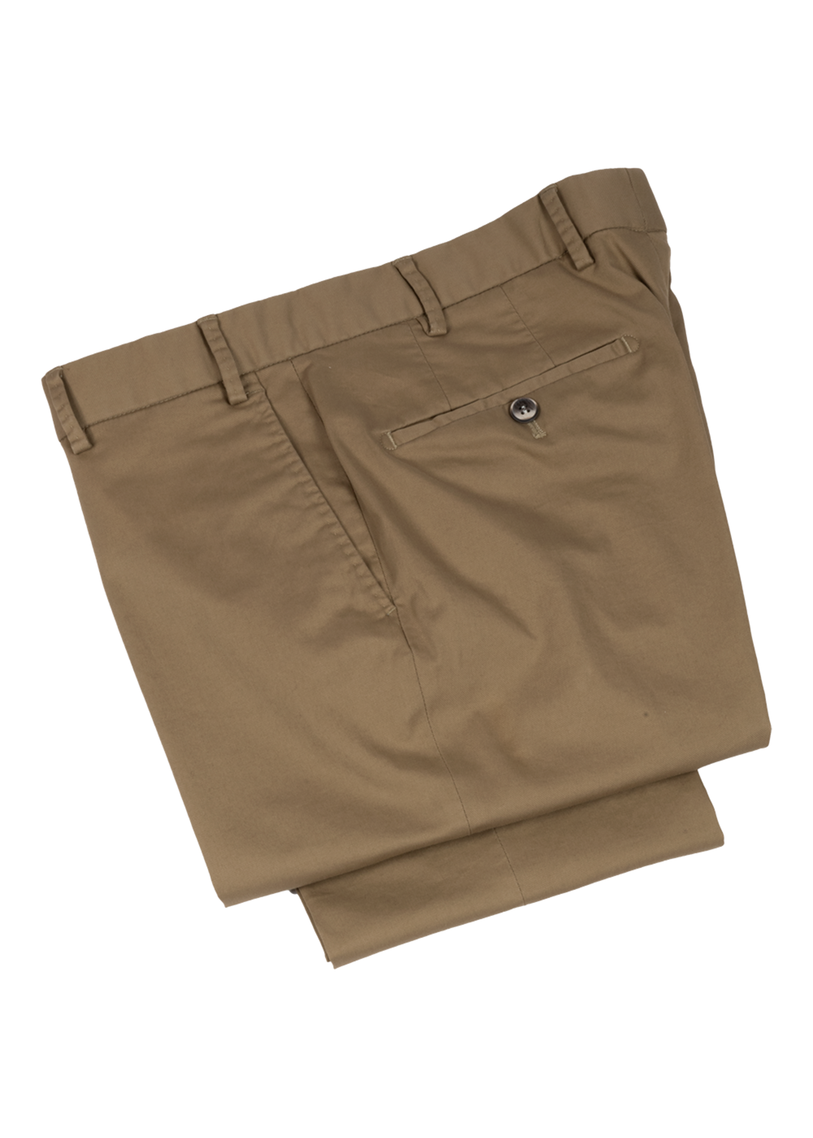 Hiltl Dayne Pant Tan Tricotine Twill Cotton by Hiltl