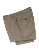 Hiltl Hiltl DiBiella 110's Serge Wool Tan Trouser