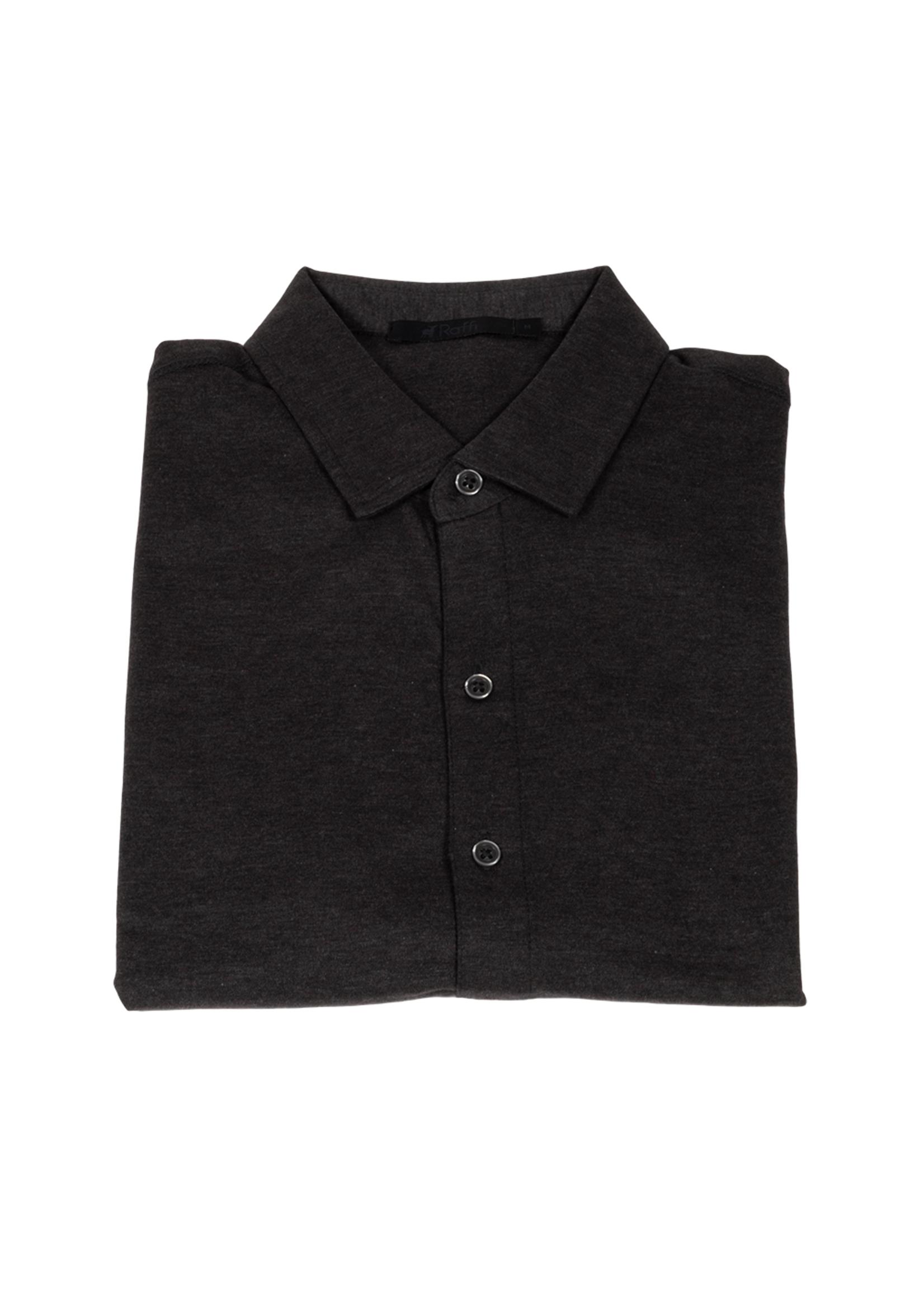 Raffi Aqua Cotton Short Sleeve Shirt by Raffi
