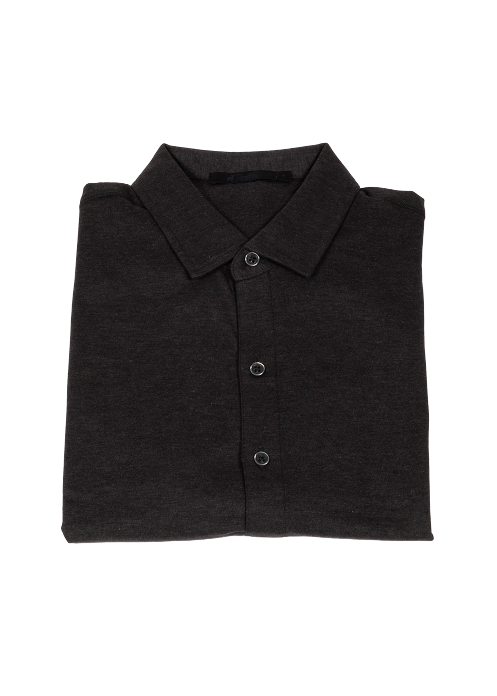 Raffi Raffi Aqua Cotton Short Sleeve Shirt Espresso
