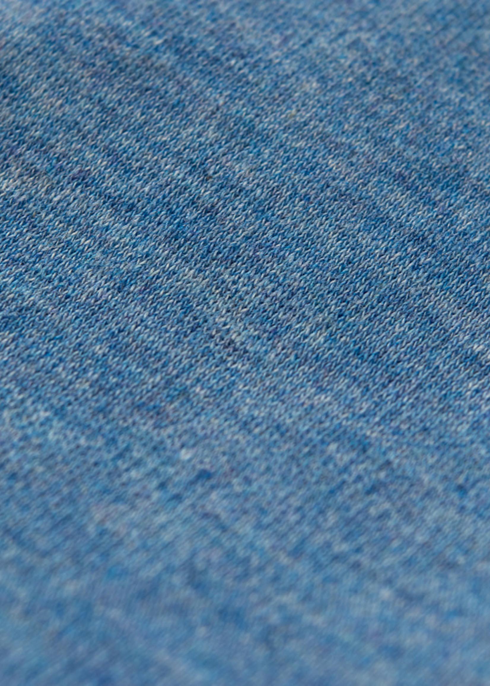 Raffi Aqua Cotton Short Sleeve Polo by Raffi