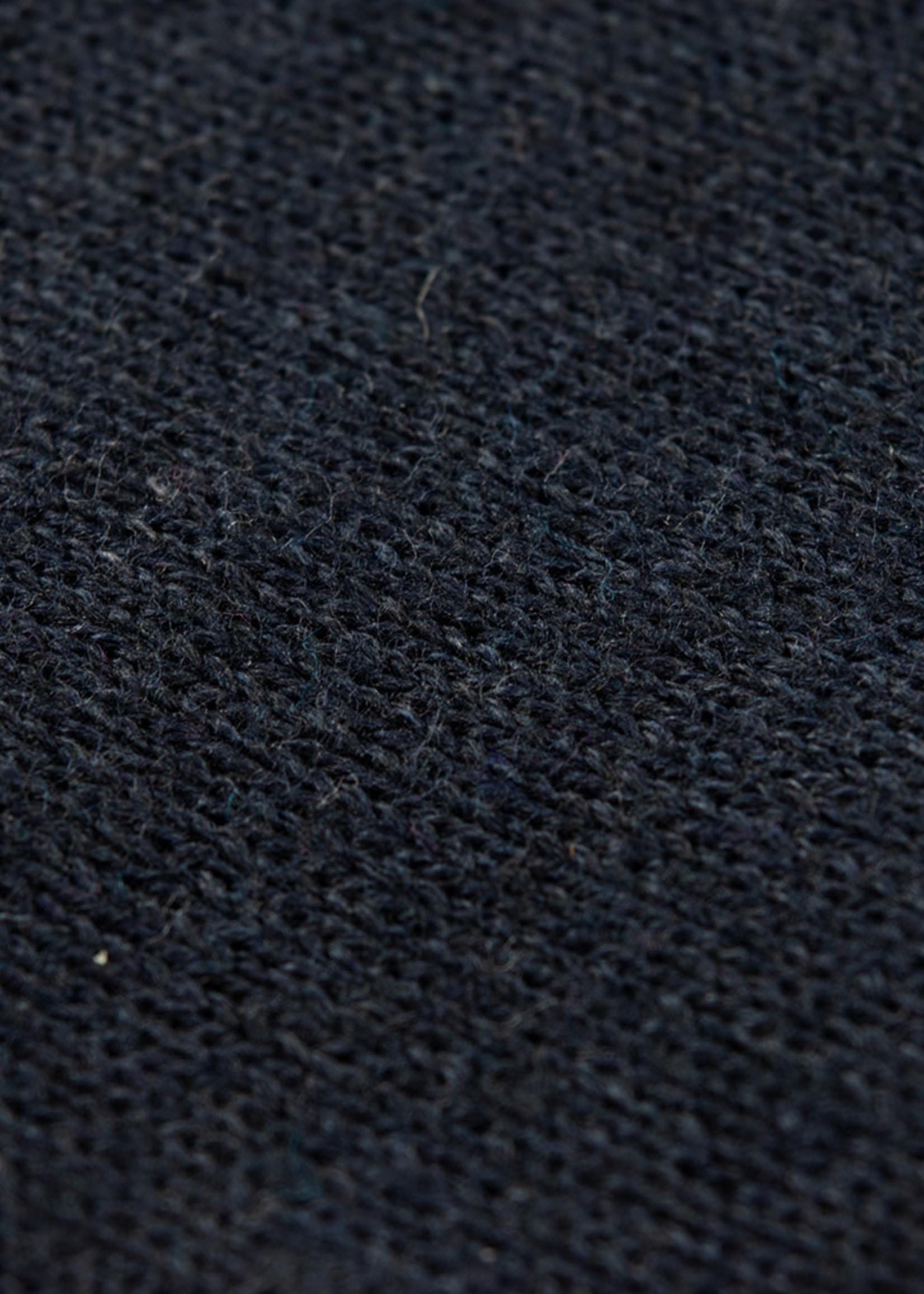 Alan Paine Alan Paine Selhurst Pima Half Zip Cotton/Cashmere Navy