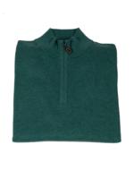 Alan Paine Alan Paine Selhurst Pima Cotton/Cashmere Half  Zip