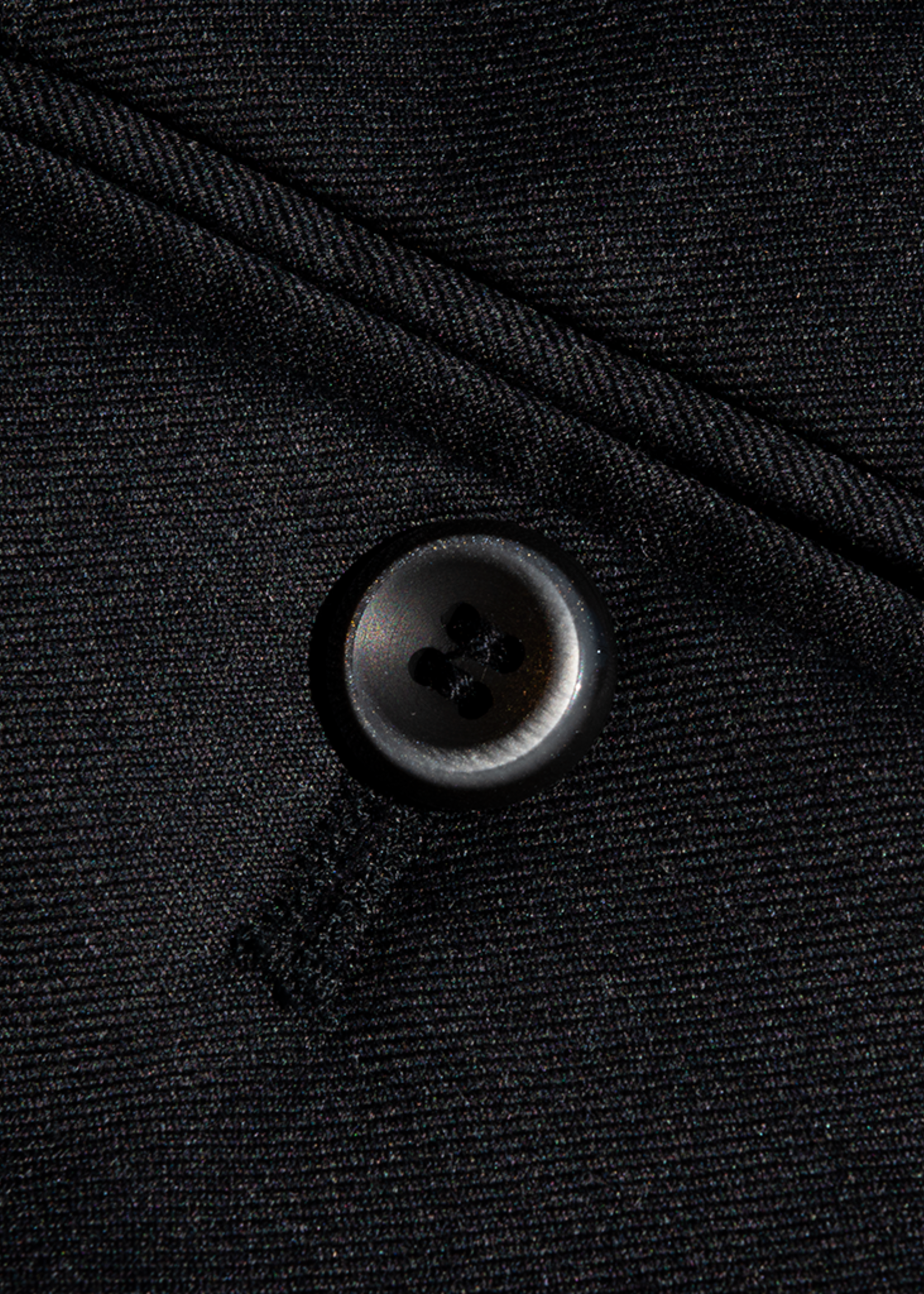 Hiltl Hiltl DiBiella 110's Serge Wool Charcoal Trouser