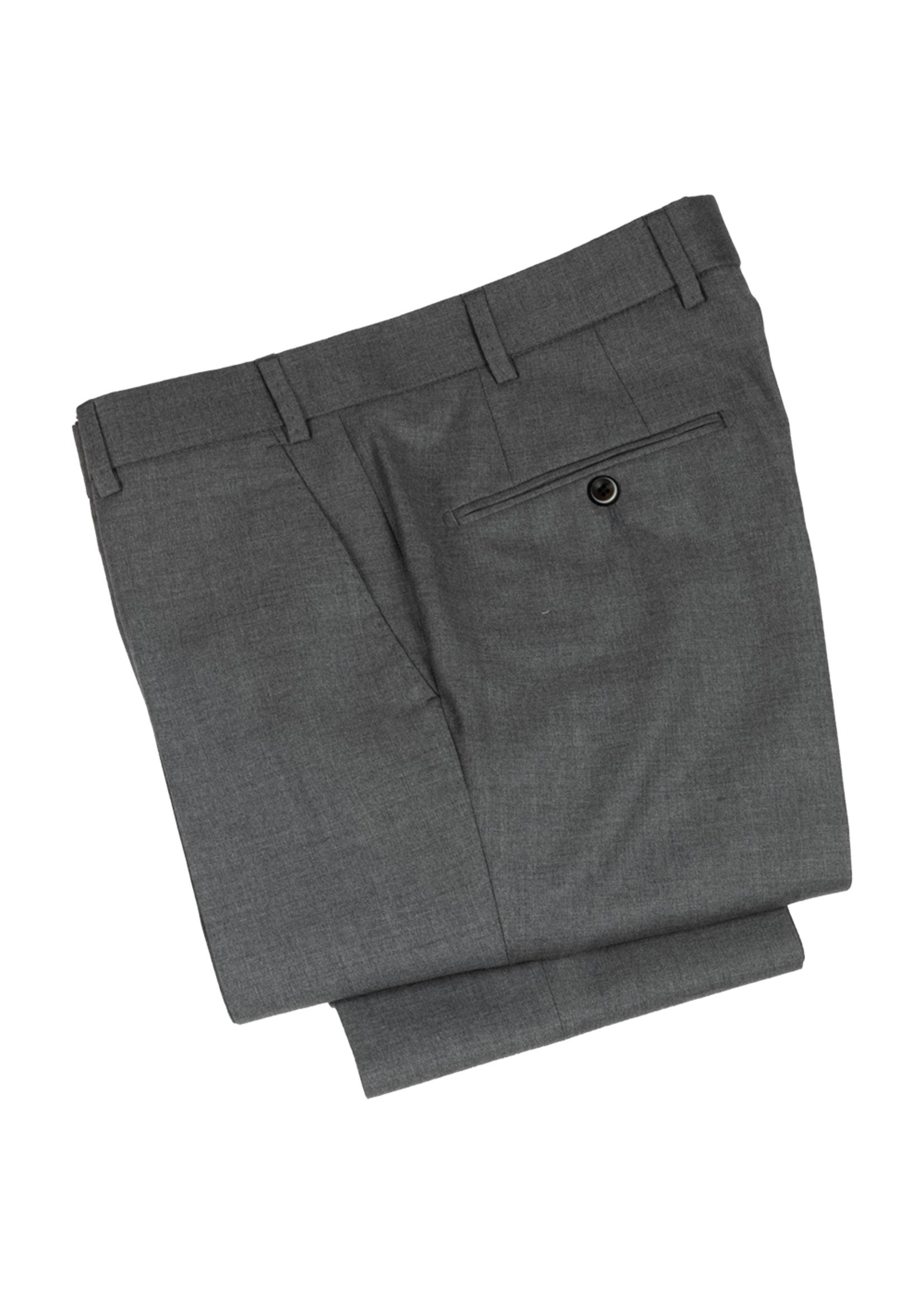 Hiltl Hiltl DiBiella 110's Serge Wool Light Grey Trouser