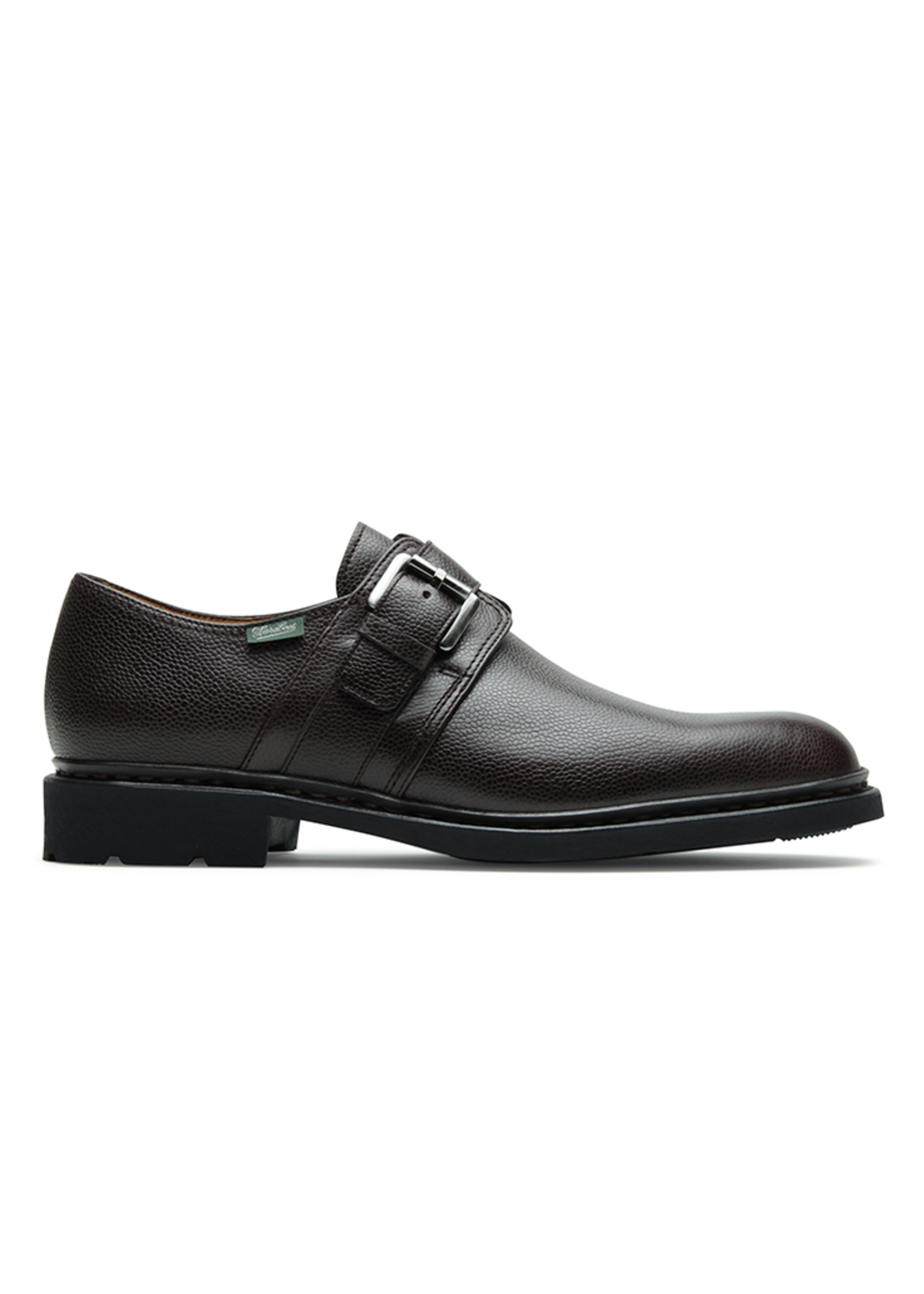 Paraboot Loty Cafe Grain Monk Strap by Paraboot