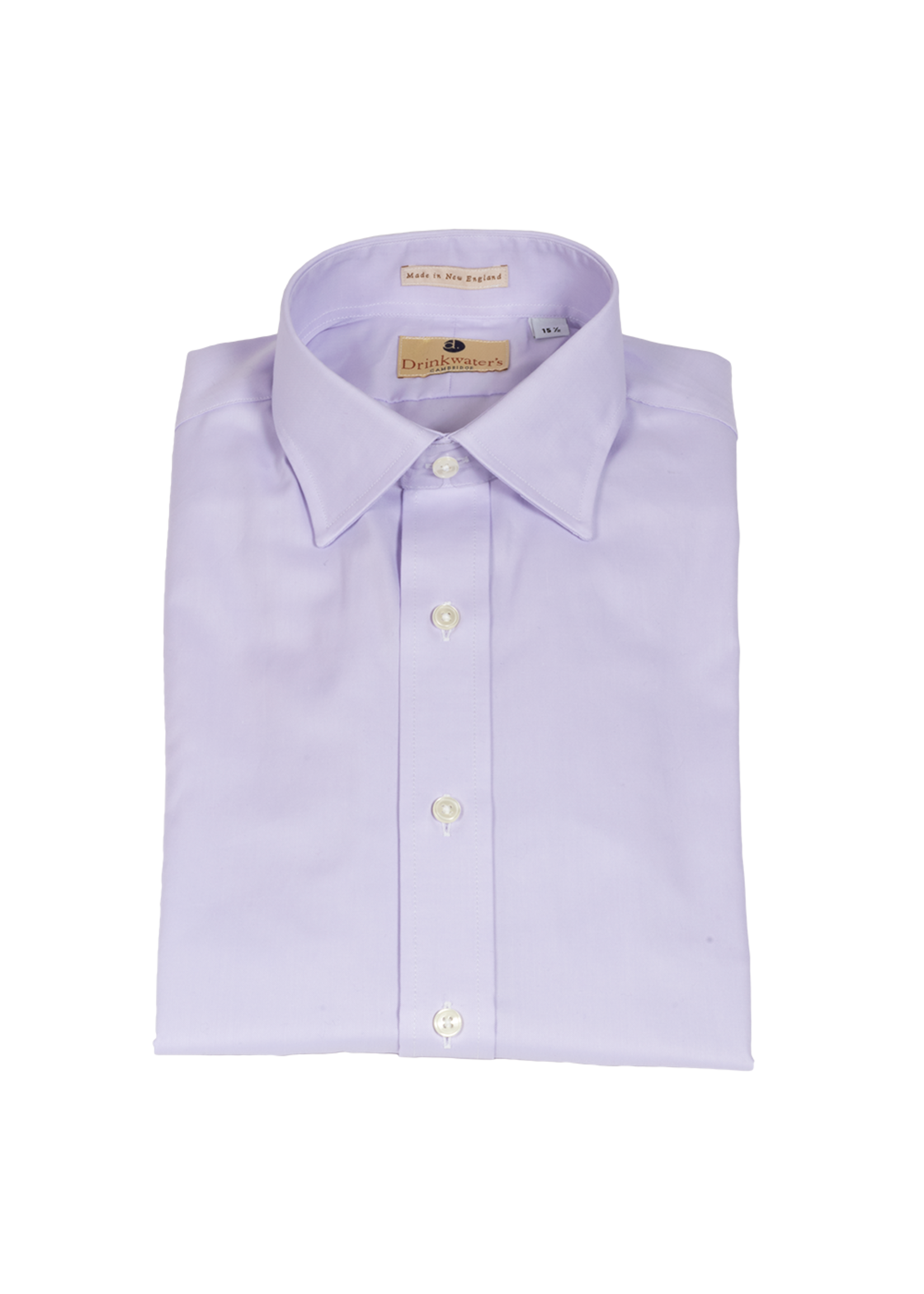 Drinkwater's Drinkwater's Lavender Queen's Oxford Dress Shirt