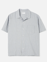 Universal Works Road Shirt Elton 2 Stripe by Universal Works