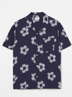 Universal Works Road Shirt Ikat Flower by Universal Works