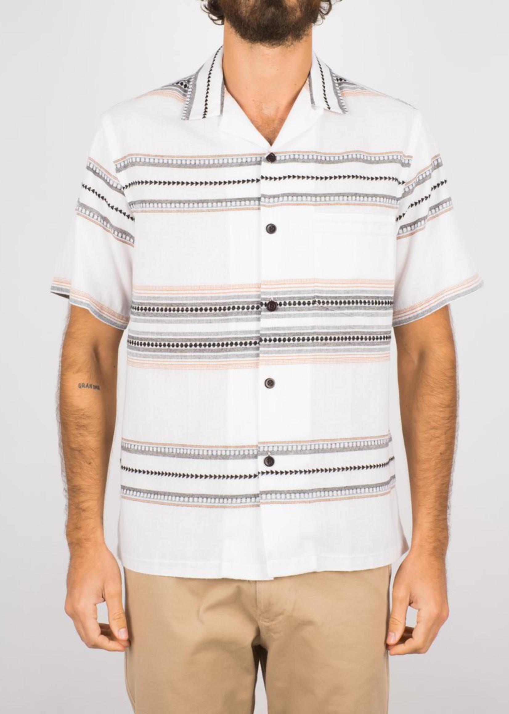 Portuguese Flannel Native S/S Camp Collar Shirt by Portuguese Flannel