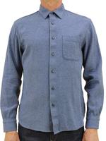 Kato Ripper Shirt Dark Blue Recycled Denim by Kato