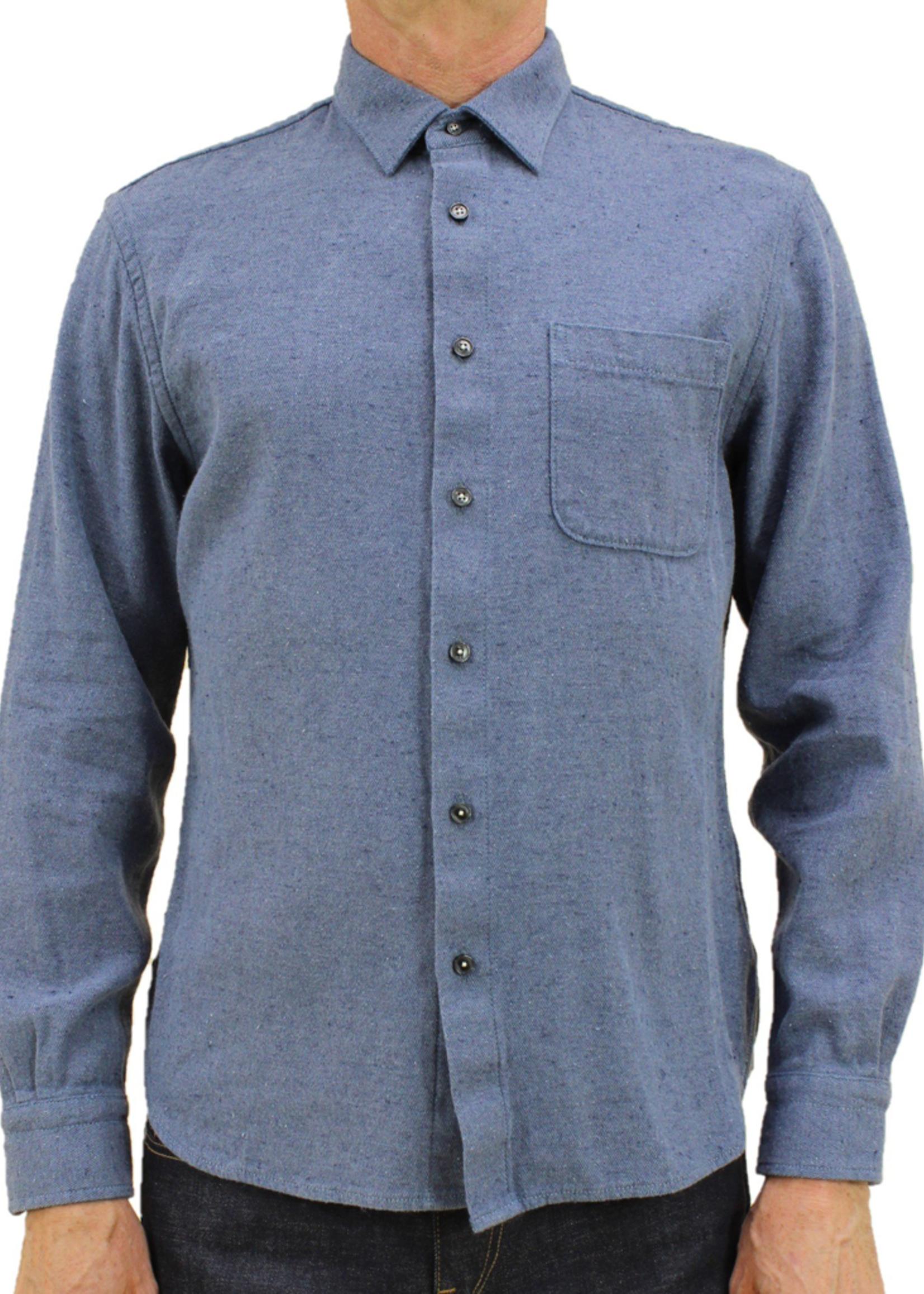 Kato  Kato Ripper Shirt Dark Blue Recycled Denim