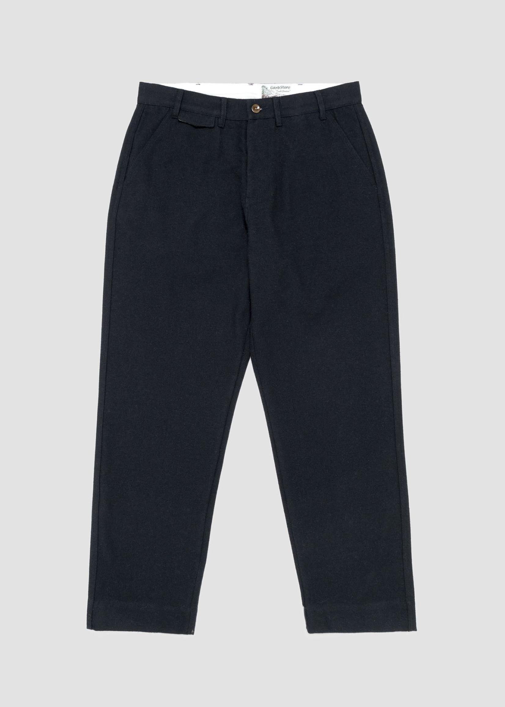GarbStore Garbstore Work Chino Navy Cotton/Wool Herringbone