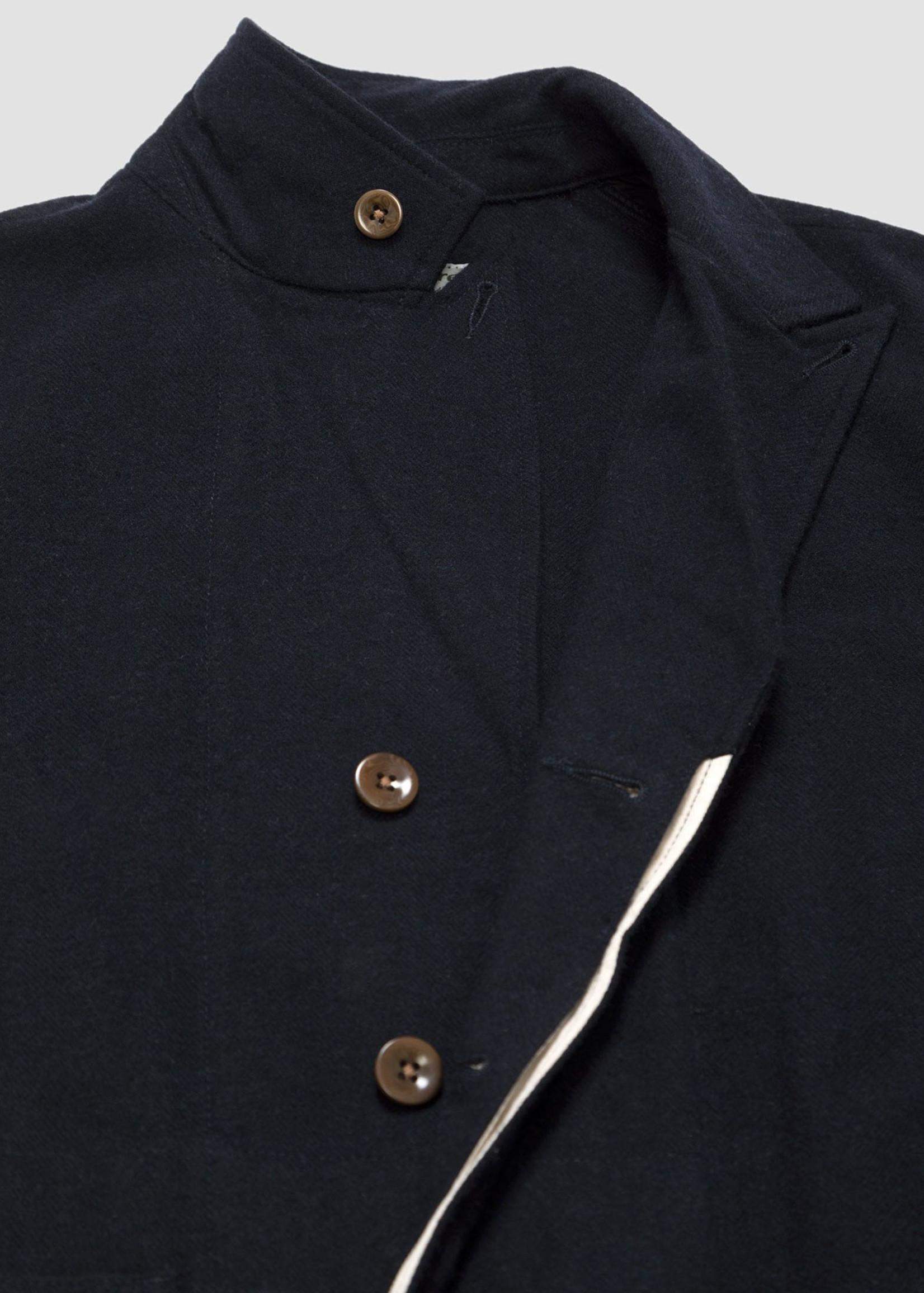 GarbStore Garbstore Work Jacket Navy Cotton/Wool Herringbone