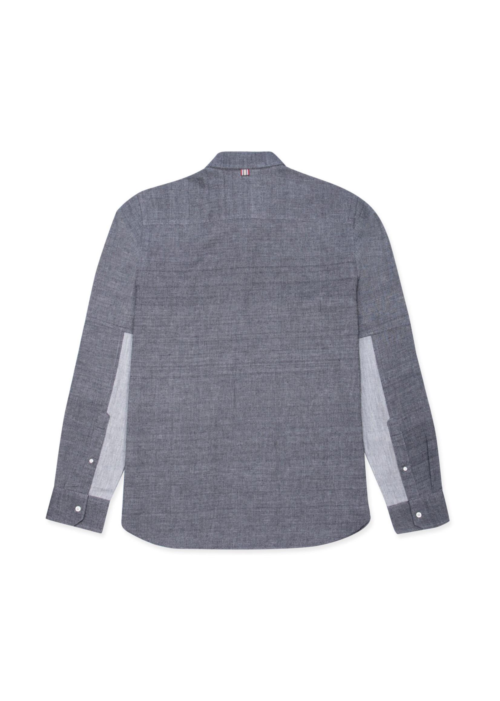 Kardo Stevie Charcoal Twill Sport Shirt by Kardo