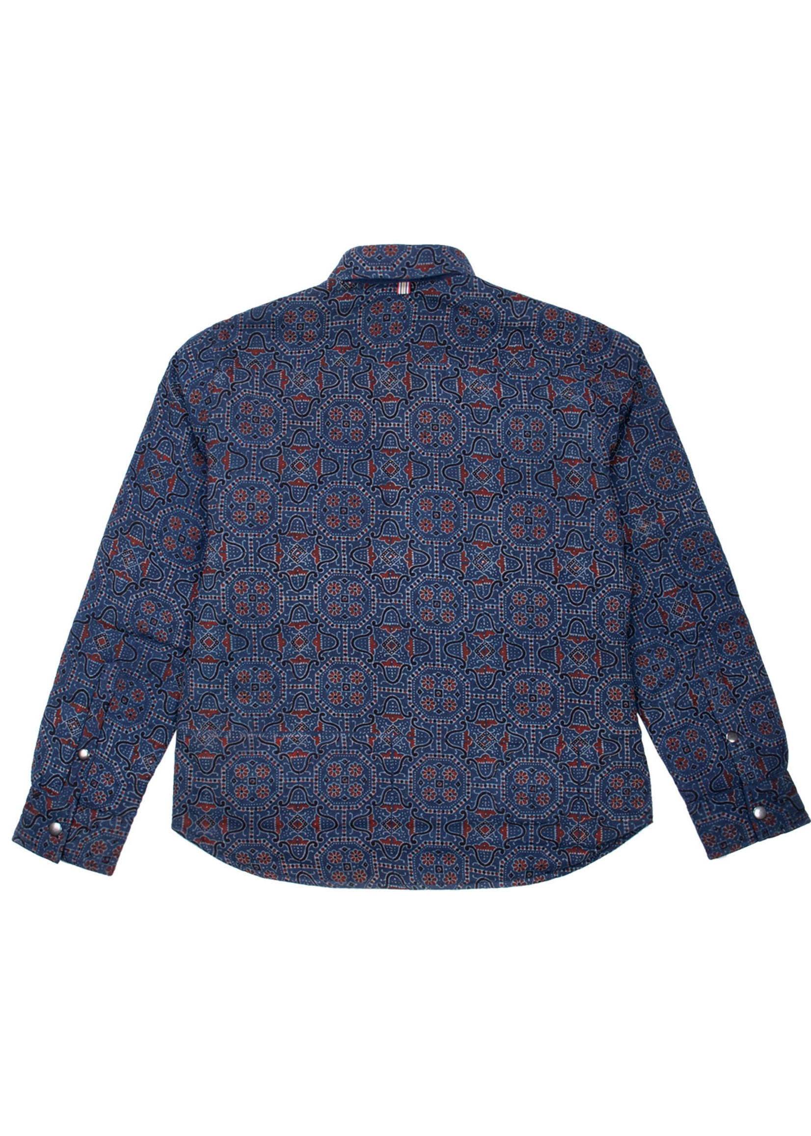 Kardo Kardo Woody Block Print Quilted Jacket