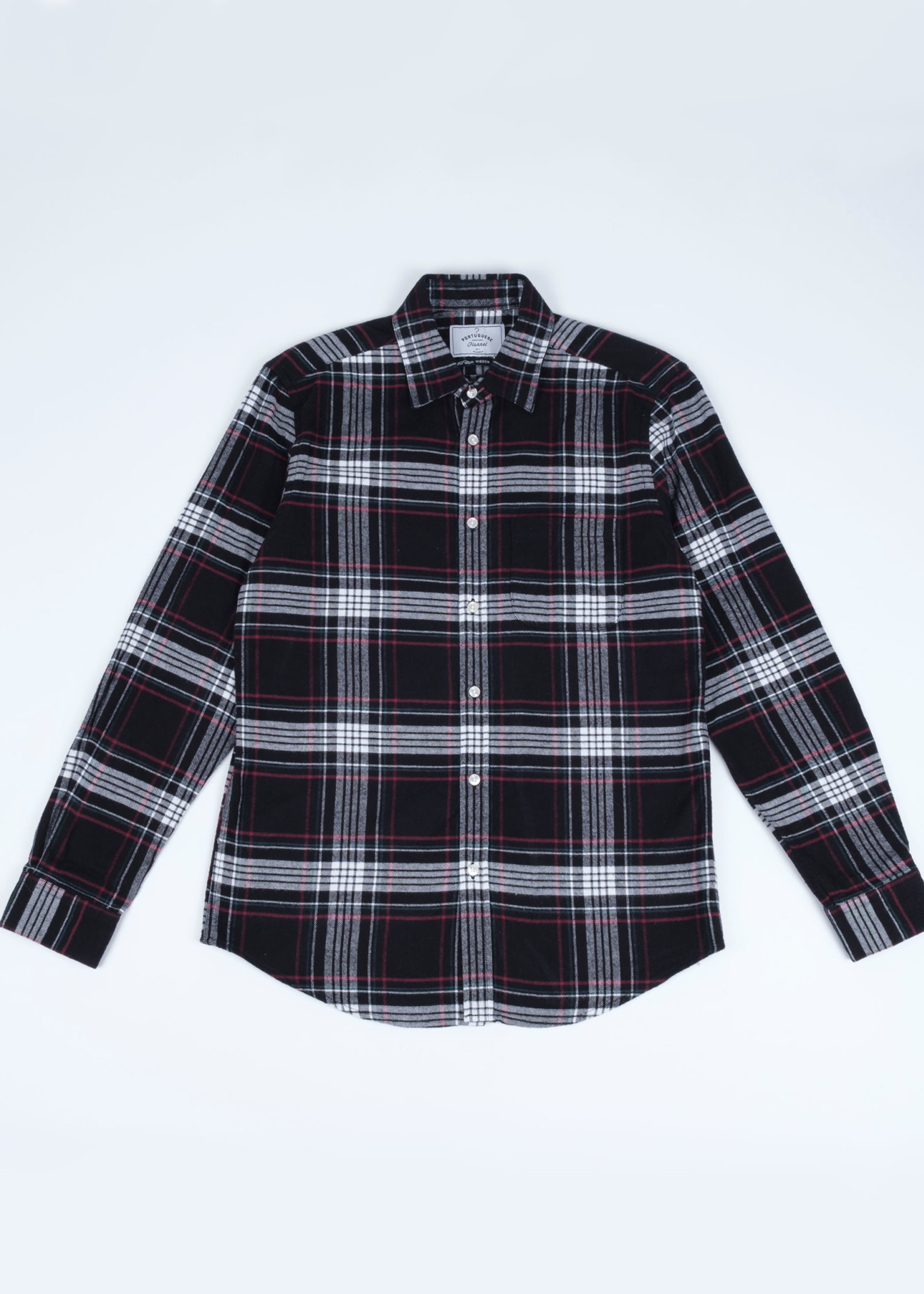 Portuguese Flannel Big Square Nazare Flannel Sport Shirt by Portuguese Flannel