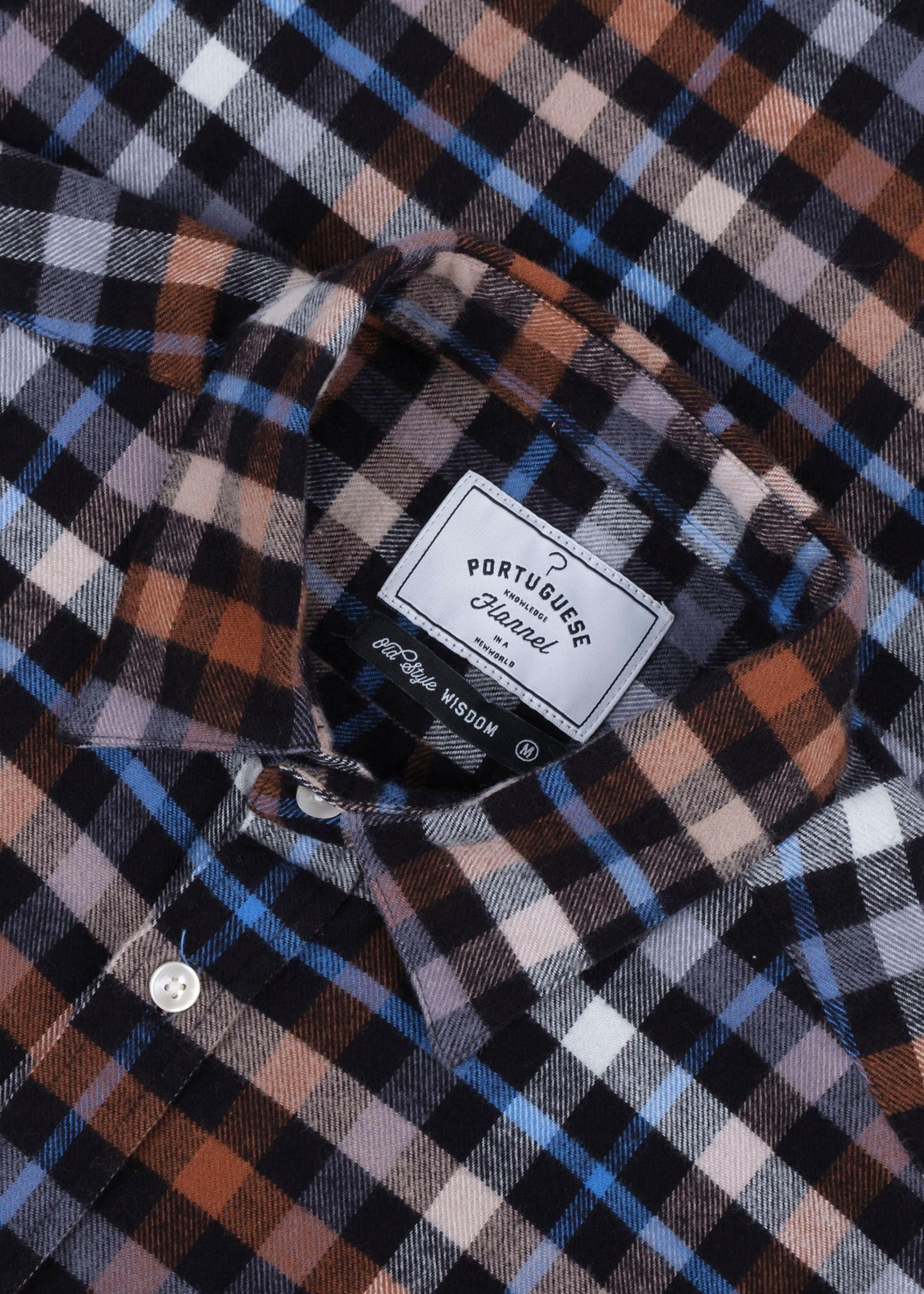Portuguese Flannel Portuguese Flannel Mob Multi Plaid Cotton Flannel Sport Shirt