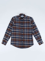 Portuguese Flannel Mob Multi Plaid Cotton Flannel Sport Shirt by Portuguese Flannel