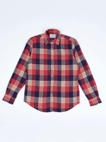 Portuguese Flannel Village Red Blue Plaid Sport Shirt by Portuguese Flannel