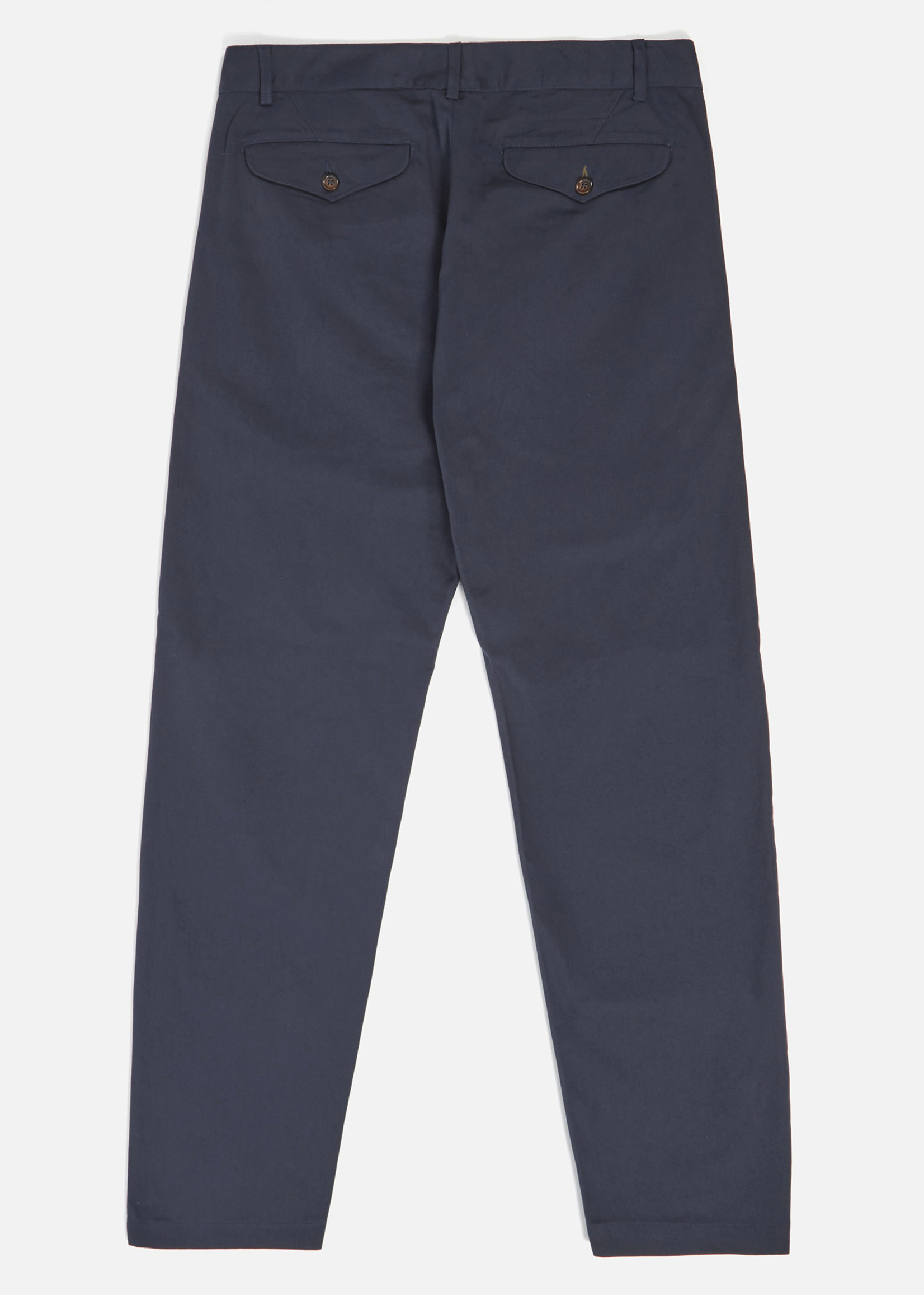 Universal Works Aston Pant in Navy Twill Cotton by Universal Works