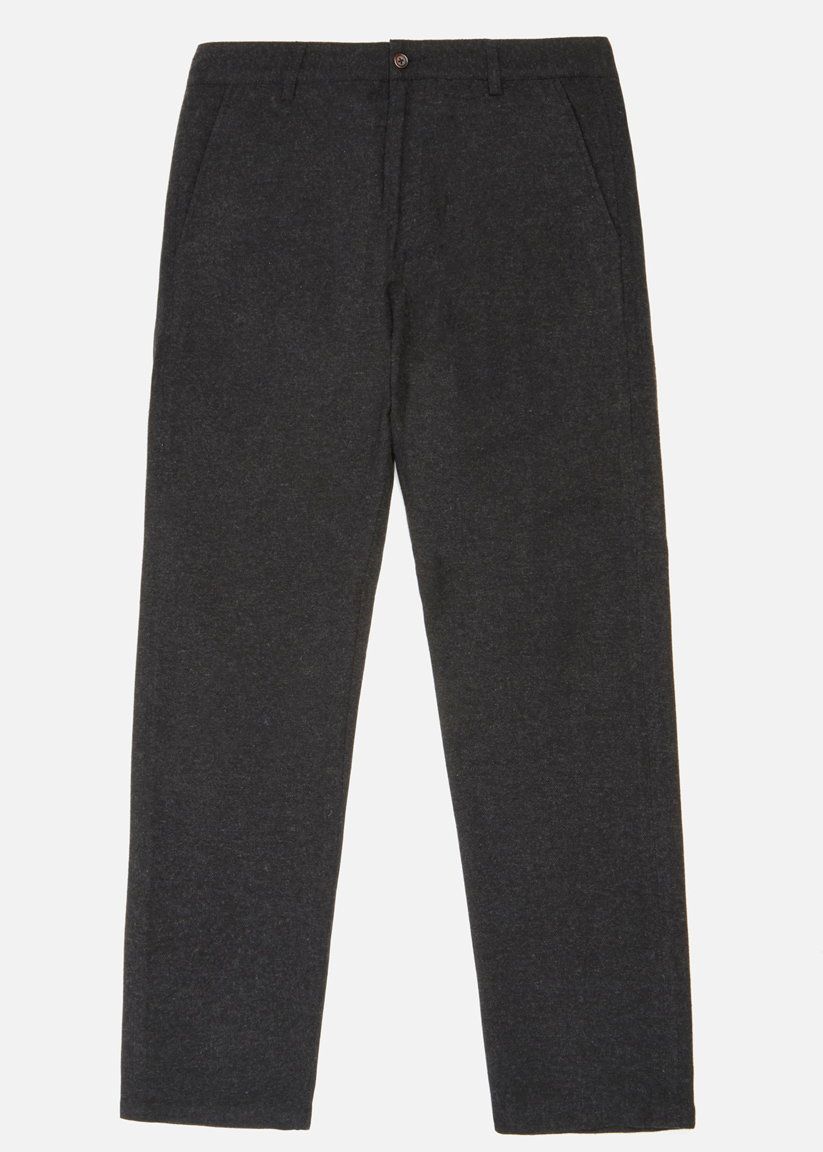 Universal Works Aston Pant in Charcoal Wool/Poly by Universal Works