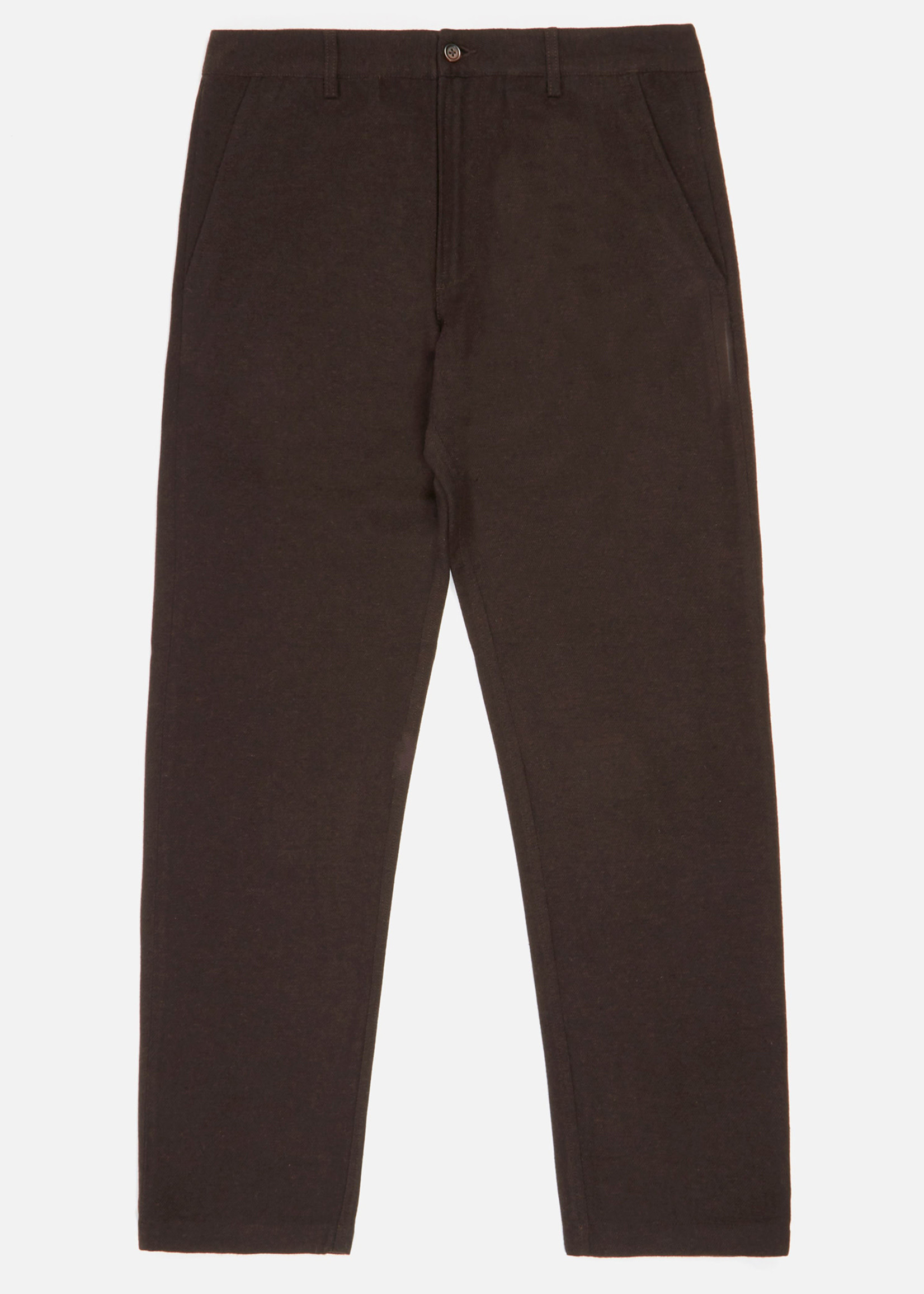 Universal Works Universal Works Aston Pant in Chocolate Wool/Poly