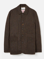 Universal Works Bakers Jacket Olive Harris Tweed by Universal Works