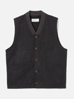 Universal Works Universal Works Brixton Waistcoat Charcoal Wool/Poly