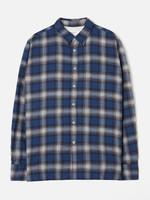 Universal Works Universal Works New Standard Shirt Blue Plaid Cotton