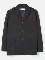 Universal Works Universal Works Three Button Jacket Charcoal Wool/Poly