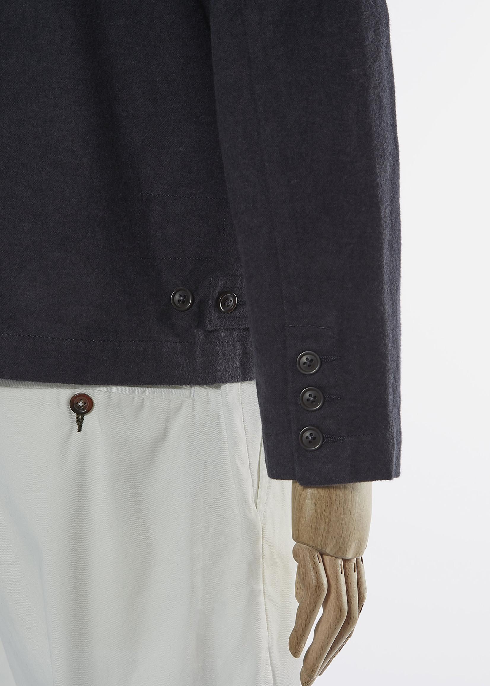 Universal Works Warmus II Jacket Grey Nebraska Cotton by Universal Works