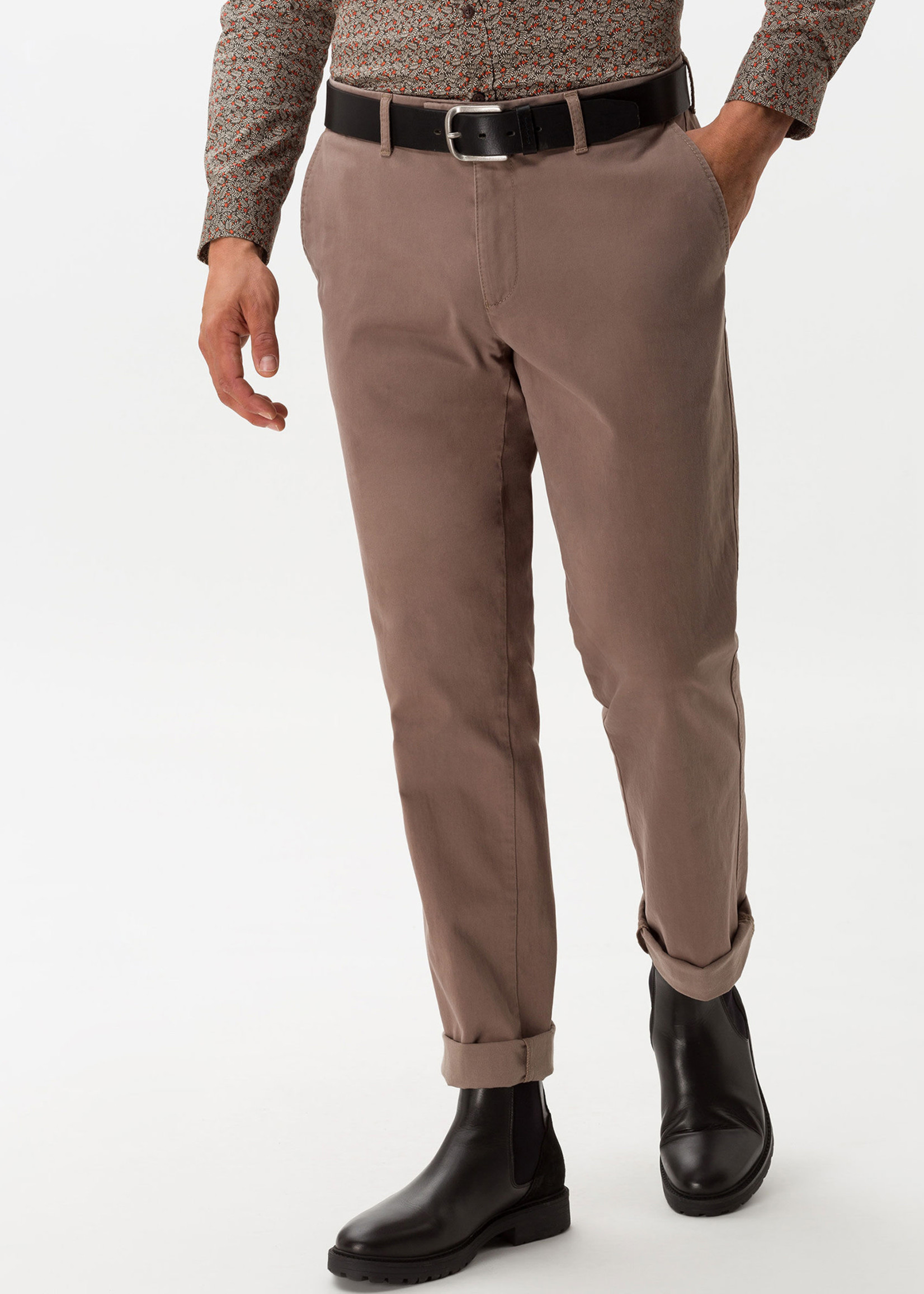 BRAX Kapok 2 Evans Trouser Khaki Cotton