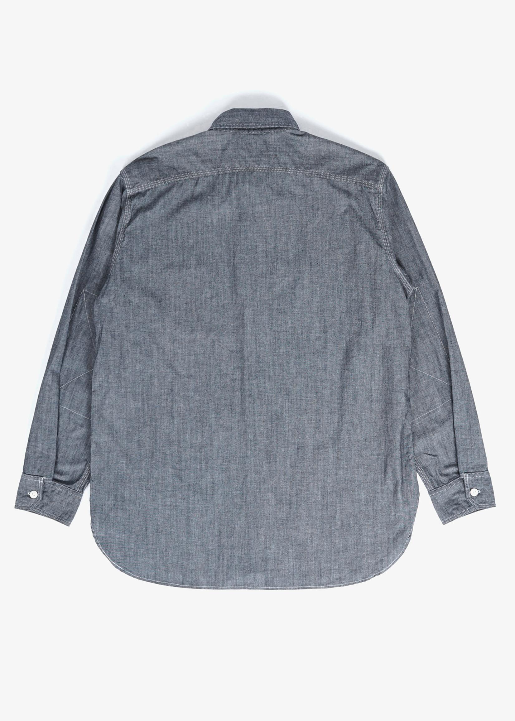 Engineered Garments  Engineered Garments Work Shirt Indigo Cotton Chambray