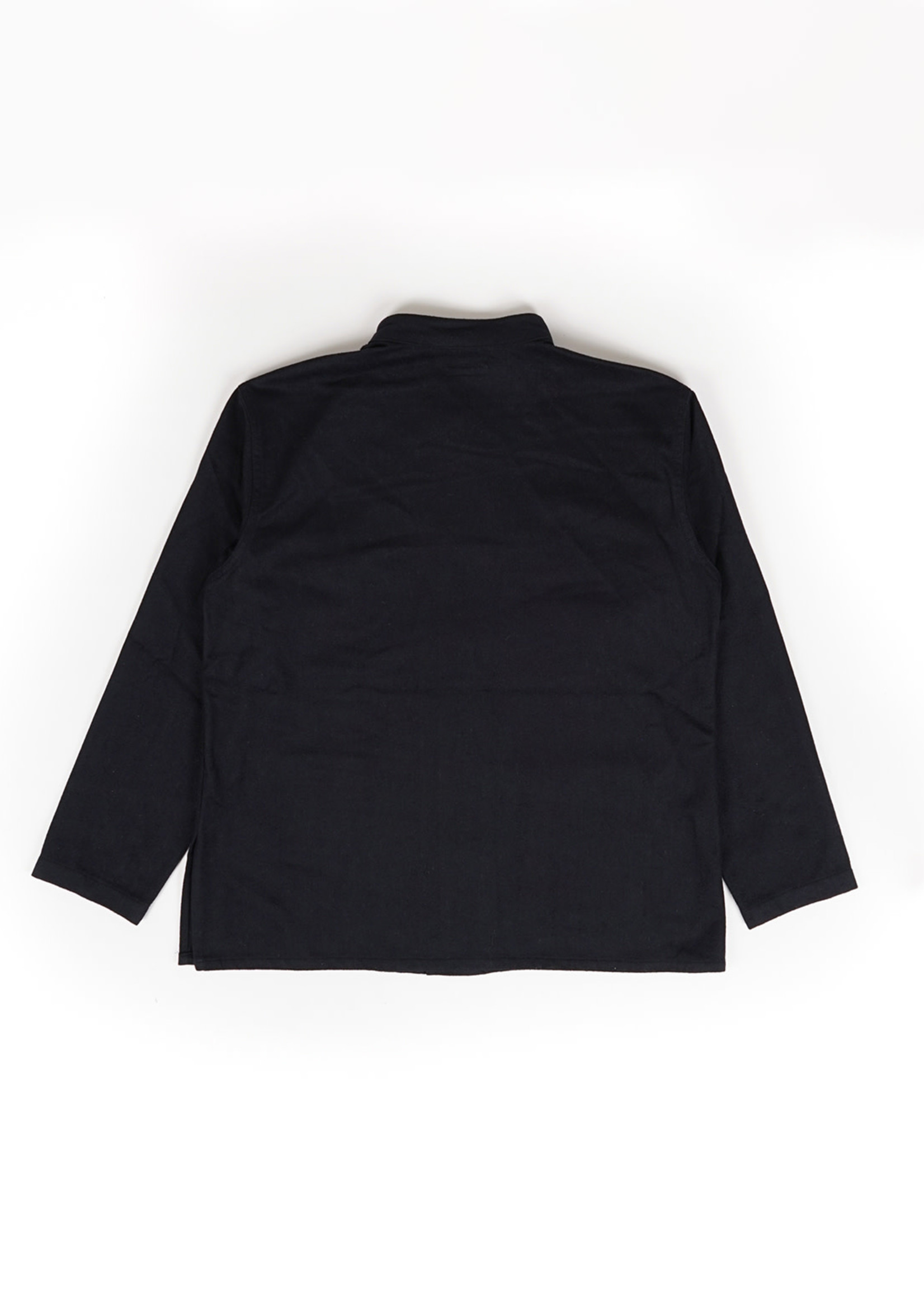 Engineered Garments Dayton Shirt Dark Navy Wool/Cotton Flannel by Engineered Garments