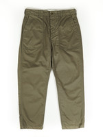 Engineered Garments Fatigue Pant Olive Cotton Herringbone Twill by Engineered Garments