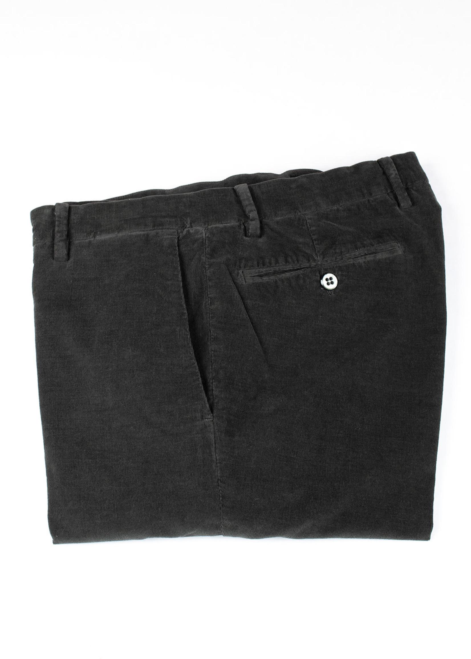 Mason's New York Charcoal Cotton Corduroy Trousers
