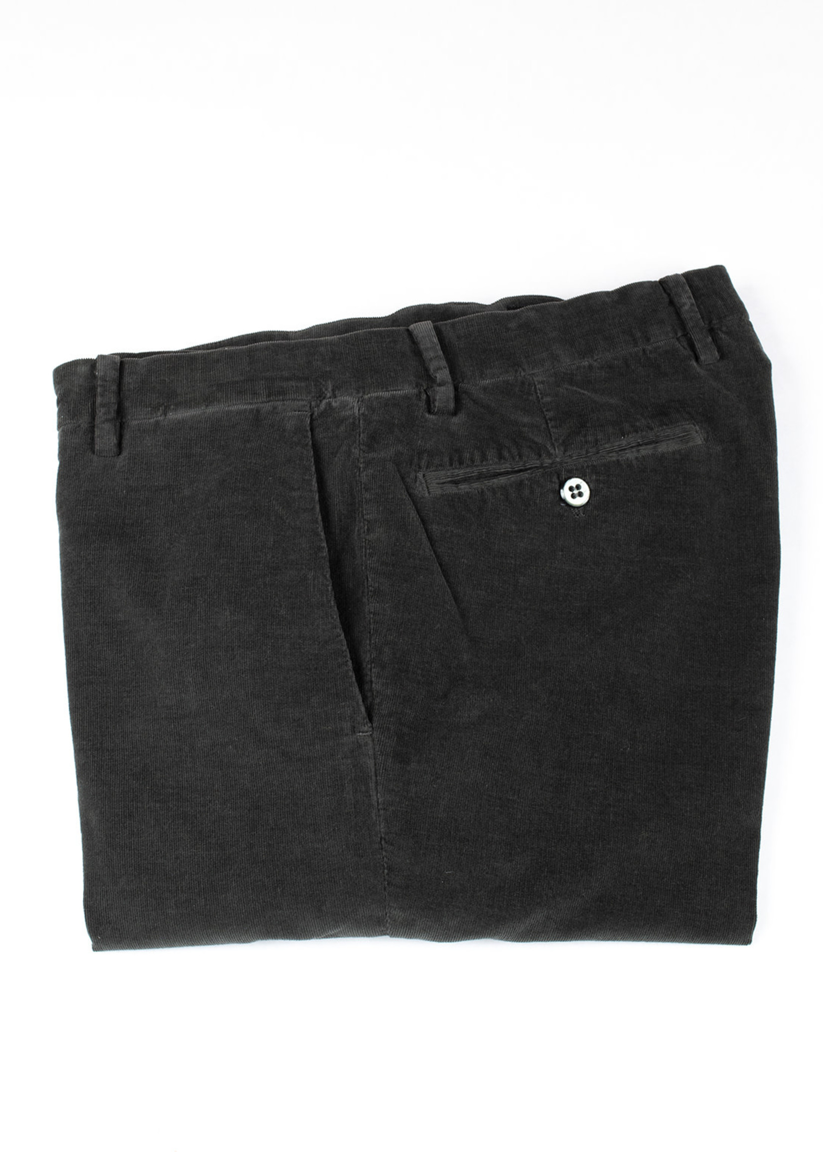 New York Charcoal Cotton Corduroy Trousers by Mason's