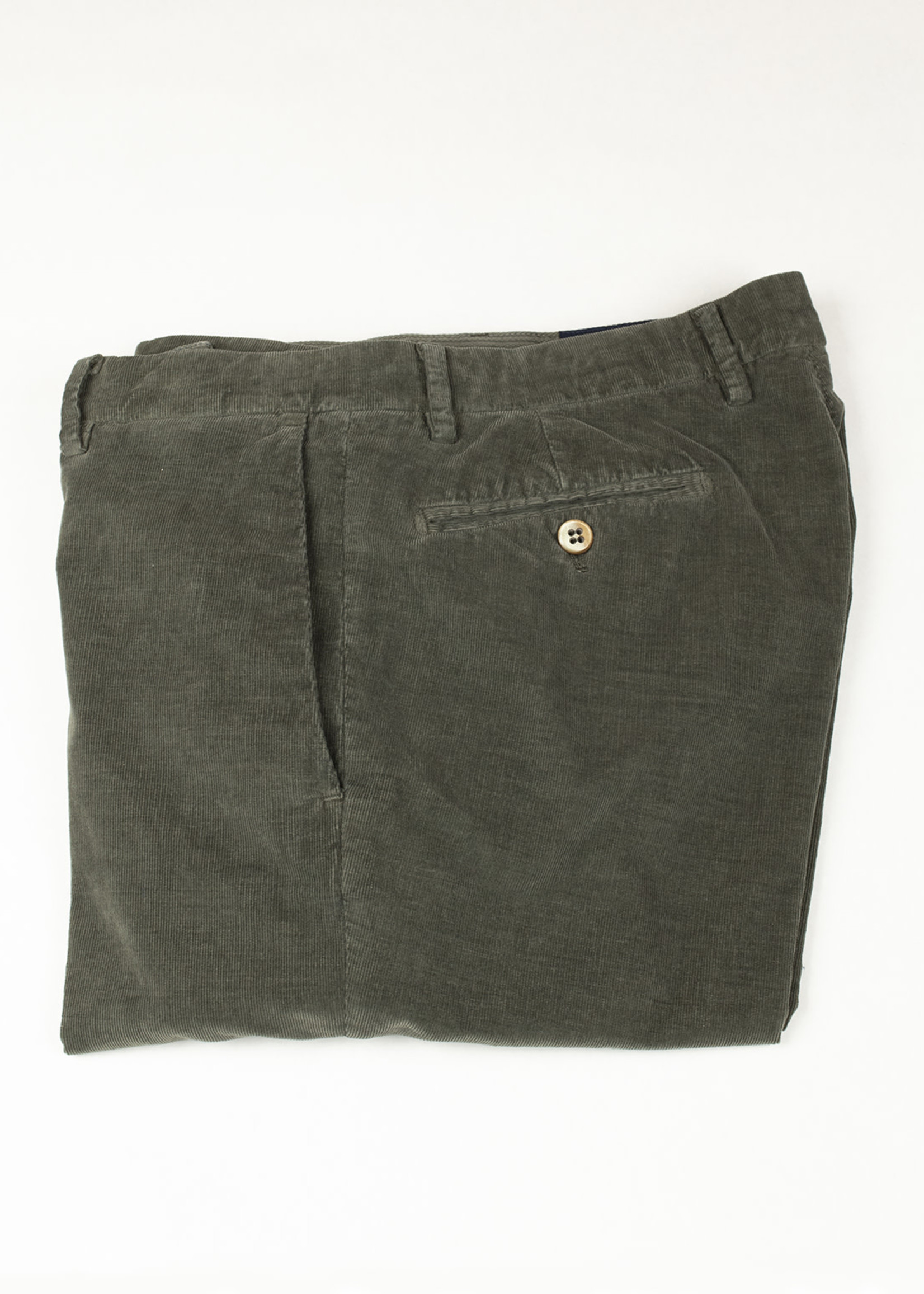 Mason's New York Olive Cotton Corduroy VBE011-053