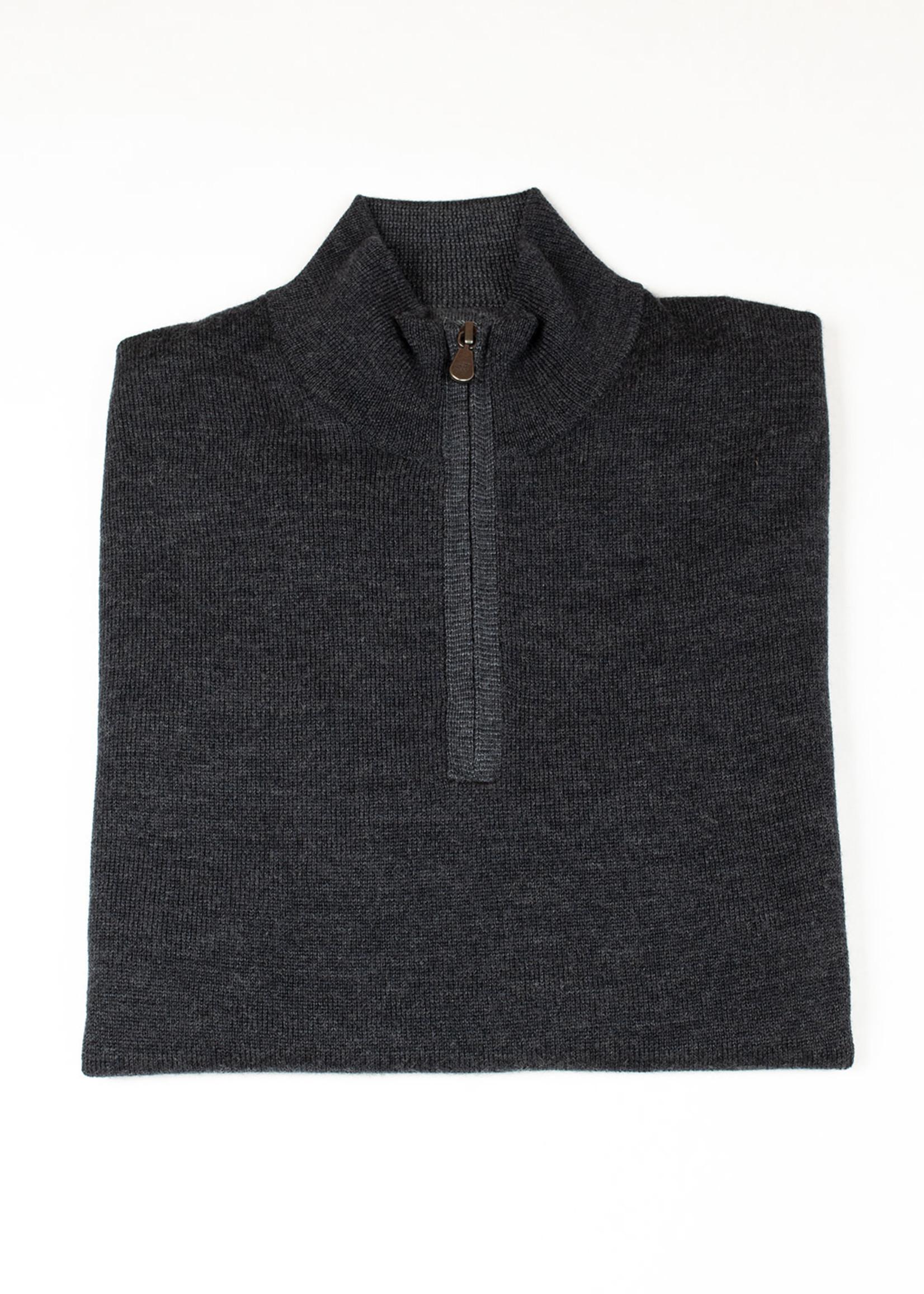 Raffi Iron Merino Wool 1/4 Zip by Raffi