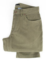 Hiltl Dude 5 Pocket Pant Olive Cotton Twill by Hiltl