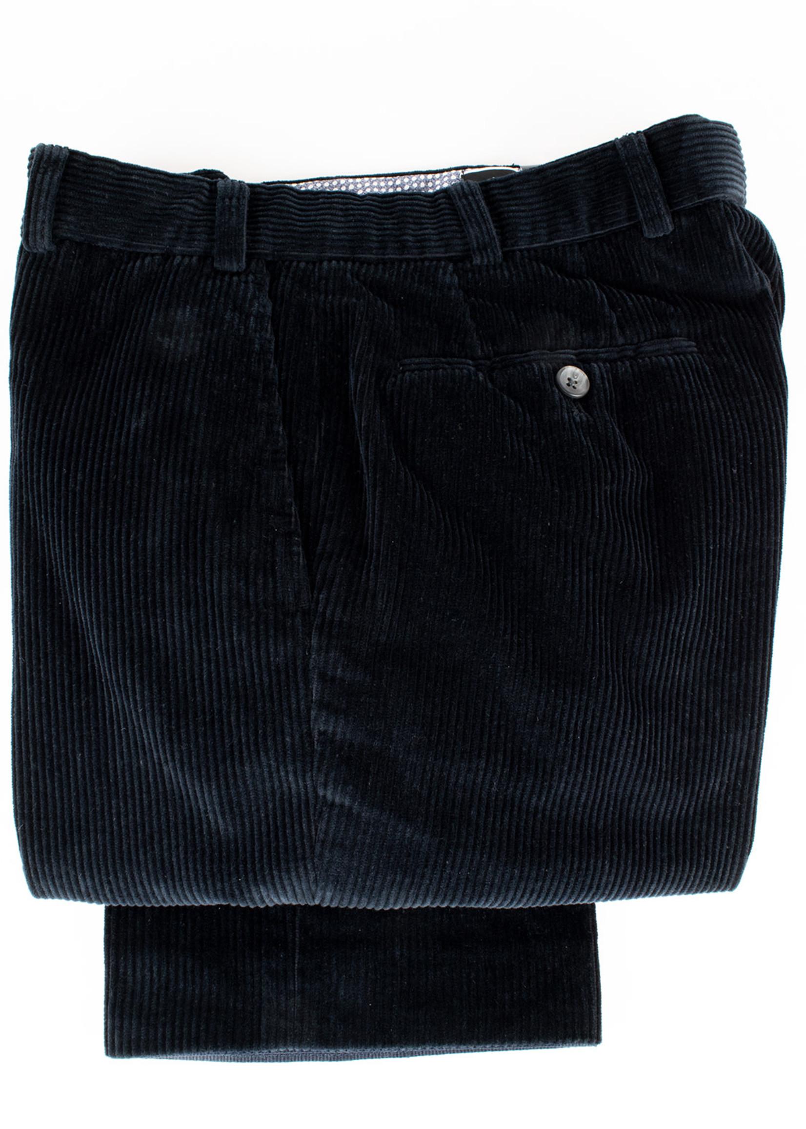 Hiltl Hiltl Parma Pant Black Wide Wale Corduroy